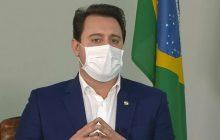 Ratinho Junior descarta lockdown e convoca reunião para anunciar novas medidas restritivas nas cidades mais atingidas pelo novo coronavírus