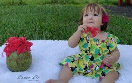 Após 23 dias, Laura Lis tem alta hospitalar; garotinha sofreu queimaduras com líquido corrosivo
