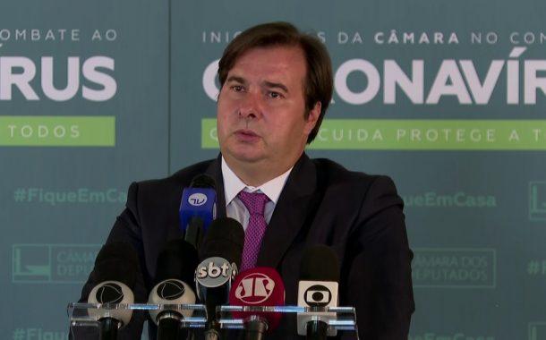 Maia propõe votar em duas semanas proposta que adie eleição para 15 de novembro