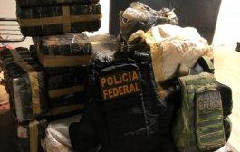 Policiais realizam apreensão de quase meia tonelada de drogas em Pato Bragado
