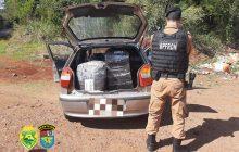 BPFRON apreende vários volumes de contrabando em Santa Helena