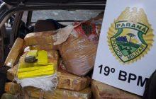 PM apreende veículo com mais de 350 quilos de maconha em Santa Helena