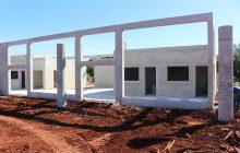 Construção do terminal rodoviário de Itaipulândia segue em ritmo acelerado