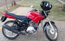 Moto furtada em Santa Helena é recuperada em Diamante do Oeste; Duas pessoas foram presas