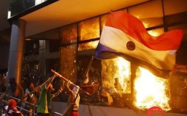 Covid-19: Protestos violentos em Ciudad del Este contra volta da quarentena inteligente