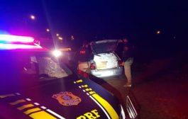 Veículo com cigarros carregada em Santa Helena é apreendido pela PRF; Um homem foi preso