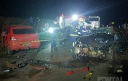 Vítimas fatais de grave acidente de trânsito em Palotina são identificadas, entre elas uma criança de cinco anos