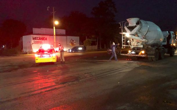 Ciclista de 14 anos é atropelada por caminhão em Marechal Cândido Rondon
