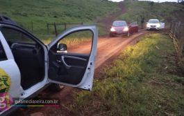 PM de Matelândia recupera dois veículos roubados em Medianeira e prende três pessoas