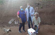 UBS do distrito de Sub-Sede em Santa Helena promove ação social a pacientes do Morro Sete Pecados
