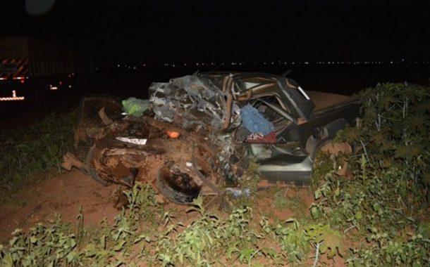 Moradores de São Miguel do Iguaçu morrem em acidente no MT