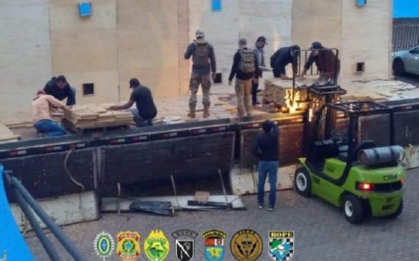 Carga com quase 1.8 toneladas de maconha é apreendida em Pato Bragado
