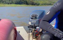 Marinha e Bombeiros retomam buscas por jovem desparecido no Lago de Itaipu