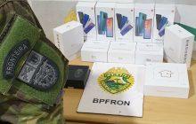 BPFRON apreende celulares em Santa Helena
