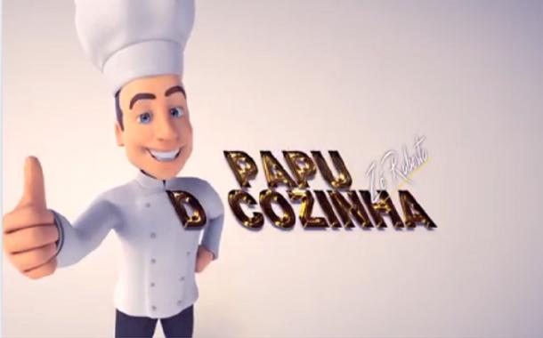 No Programa Papu D'Cozinha hoje tem 'Arroz de forma ao forno'