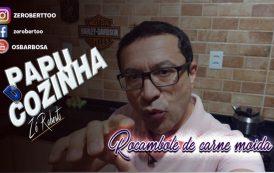 PAPU D' COZINHA: Rocambole de carne moída é a receita do Programa deste fim semana