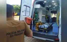 Criança de seis anos fica ferida após ser baleada acidentalmente pelo irmão