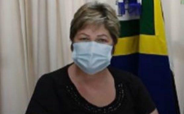 Prefeita de Itaipulândia testou positivo para Covid-19, disse que está bem e que irá trabalhar remotamente