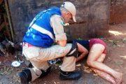 Homem que matou namorada a pauladas é preso