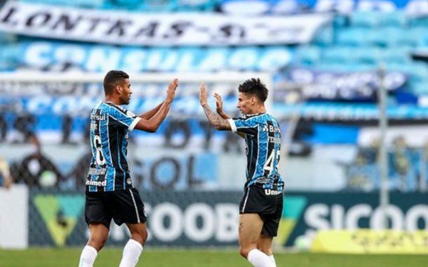 Reis do empate, Grêmio e Palmeiras ficam na igualdade em Porto Alegre: 1 a 1