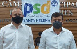 Zado e Dinho Maraskim registram oficialmente candidaturas no TSE