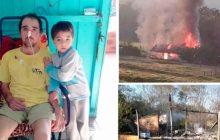 Morador de Diamante do Oeste que se recupera de grave acidente e teve a casa queimada precisa de doações