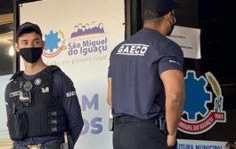 Gaeco e Deccor cumprem mandados de busca na prefeitura e casa do prefeito