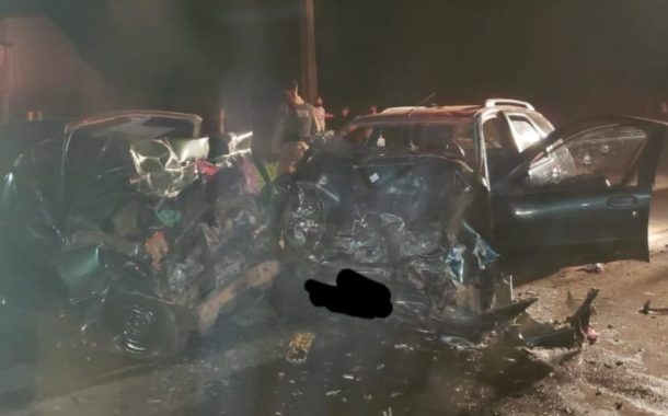 Região: Colisão frontal deixa um morto e cinco gravemente feridos