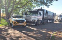 Caminhão que saiu de Santa Helena carregado com maconha é apreendido no RS