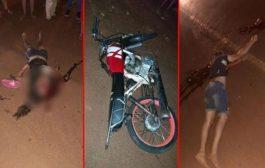 Motociclista morre após grave colisão contra automóvel