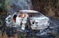 BMW de homem desaparecido é encontrado queimado na região