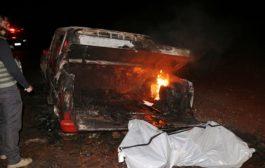 Homem é encontrado carbonizado no porta-malas de caminhonete