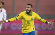 Neymar marca três vezes e seleção vence Peru nas Eliminatórias