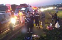 Ciclista morre após colidir contra veículo na BR-467