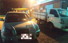 BPFRON aprende veículos com alerta de roubo em Entre Rios do Oeste