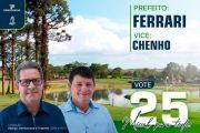 Justiça eleitoral DEFERE candidatura de Adilto Ferrari em Missal
