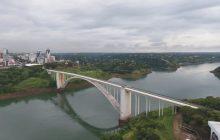 Fechada desde março por causa do coronavírus, Ponte Internacional da Amizade é reaberta em Foz do Iguaçu