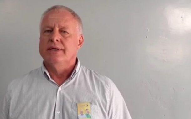 Margon Strassburger se pronuncia sobre possibilidade de renúncia da candidatura a prefeito