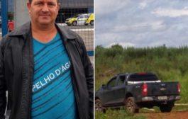 Homem vítima de sequestro é encontrado morto em cidade da região