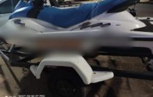 Jet Ski que atingiu criança de 6 anos na prainha de Entre Rios do Oeste é apreendido pela Polícia
