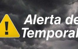 Defesa Civil alerta para risco de temporal nas regiões Oeste e Sudoeste