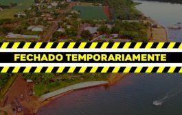 Covid-19: Balneário Jacutinga em Itaipulândia será fechado por 15 dias