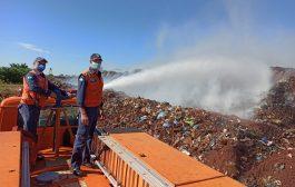 (WEB TV) Aterro Sanitário de Santa Helena está em chamas