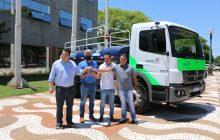 Santa Helena recebe caminhão pipa zero quilômetro do Governo do Estado