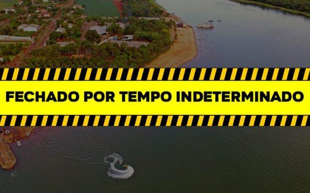 Sem show da virada, Balneário Jacutinga permanece fechado por tempo indeterminado
