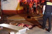 Homem é assassinado a facadas na noite passada