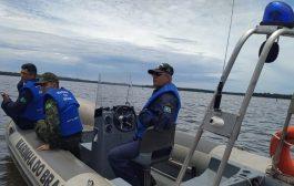 Buscas por homem desaparecido no Lago de Itaipu continuam com apoio da Marinha