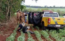 Em Missal assaltante morre após ser baleado em confronto com a Polícia