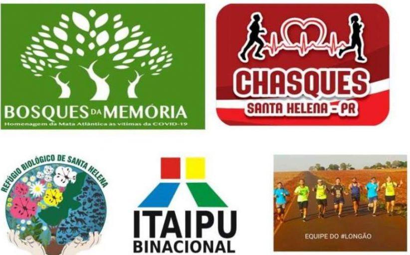 Corredores da Equipe Chasques vão participar da Campanha que criará Bosques pelo Brasil em memória às vítimas da Covid-19