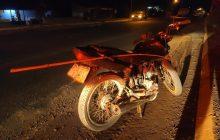 Santa Helena: Condutor sofre fratura após colidir moto contra poste